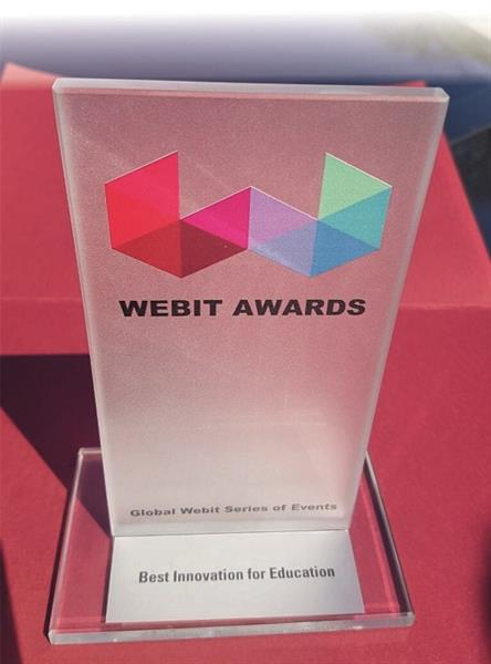 MU - Varna - Best Innovation for Education at Webit Festival 2017, the Biggest Forum for Technology and Innovation