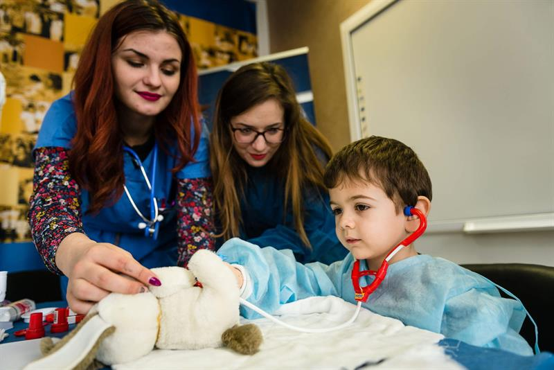 For the Eighth Consecutive Year the Students at MU - Varna Have Conducted the Campaign Teddy Bear Hospital