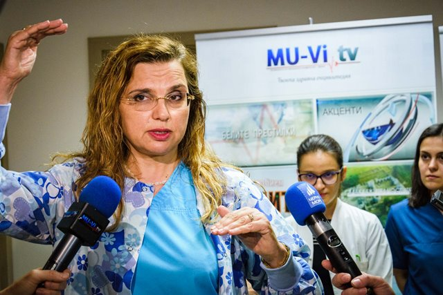 MU - Varna Presented the Results of the First Free Operations under a Scientific Project Related to Patients with Cataract