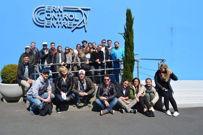 Students from MU-Varna Visited the European Organization for Nuclear Research - CERN