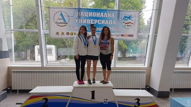 New Achievements for Students of MU-Varna at the Swimming Competitions