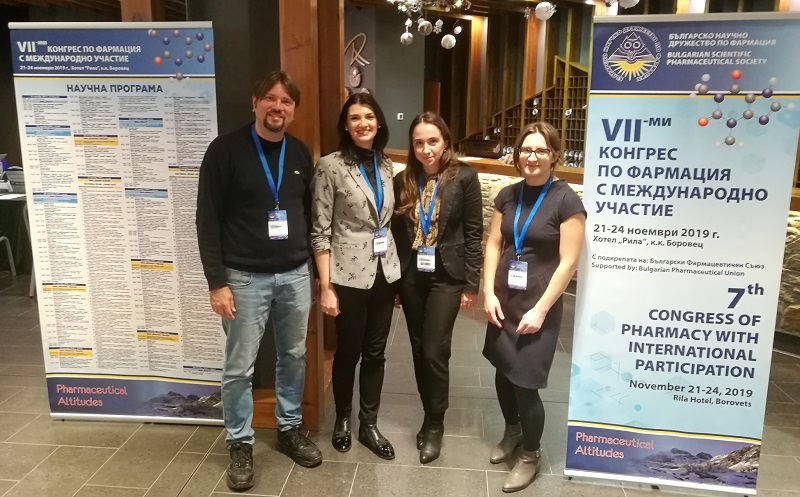 Lecturers from the Faculty of Pharmacy at MU-Varna Presented Their Work at the 7th Congress of Pharmacy with International Participation
