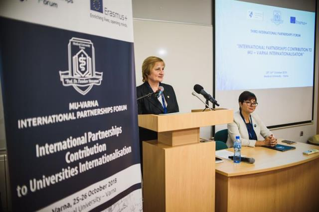 MU-Varna Has Been an Organizer and Host of the International Partnership Forum for the Third Consecutive Year