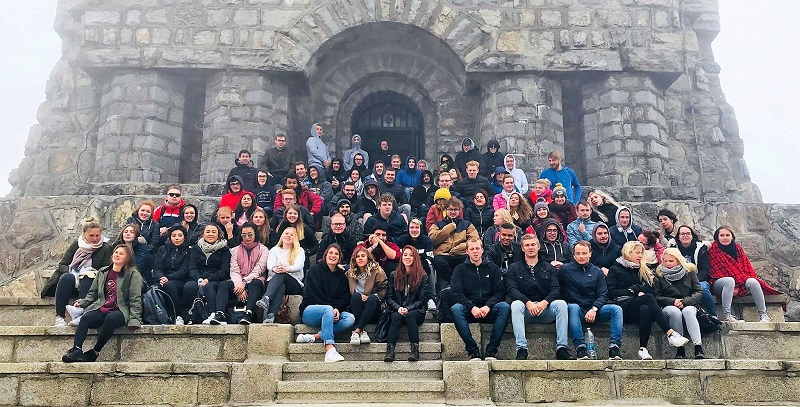 The Orientation Week of the First-Year Students in the English-Language Programmes of Study Finished with a Familiarization Trip of Bulgaria