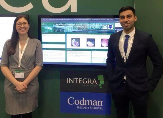 Students from MU-Varna Presented Topics at the Annual European Congress of Neurosurgery in Dublin