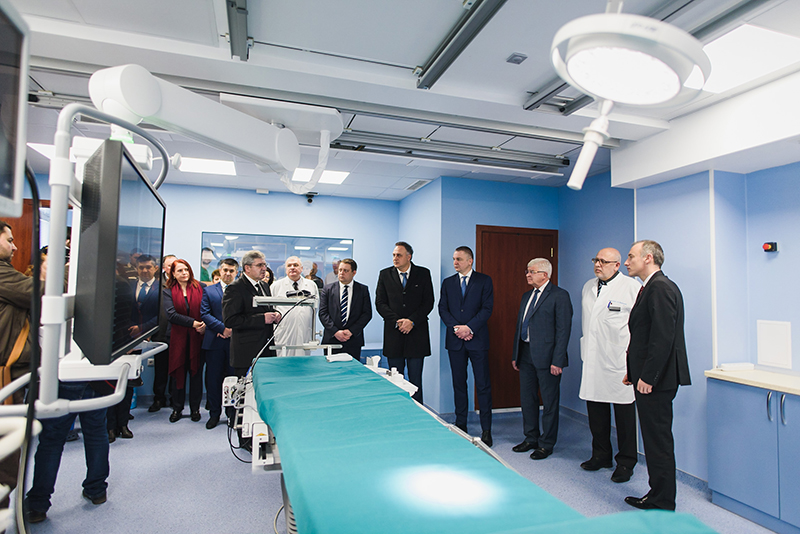 Ministers Inaugurated a Centre for Interventional Radiology at UMHAT