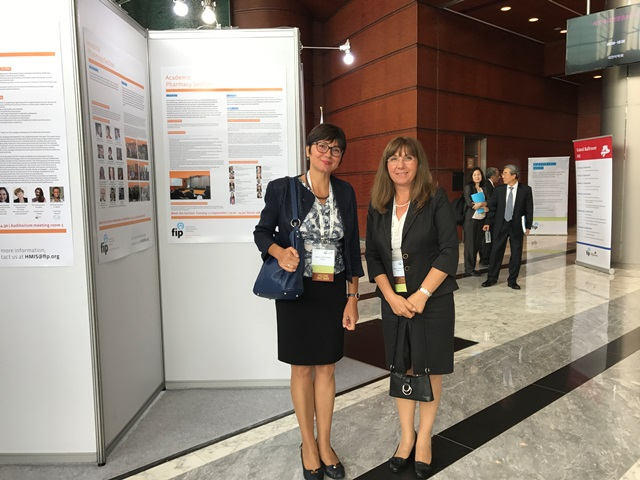 A Team of MU-Varna Took Part in the World Forum of Pharmacy Deans and the World Congress of Pharmacy and Pharmaceutical Sciences in Seoul, South Korea