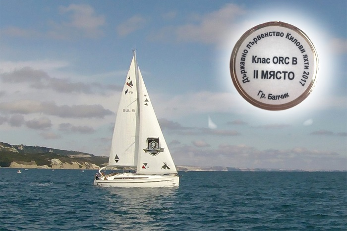 The Young Team of MU-Varna Has Become Vice-Champion of the Republic in Sailing Class ORC-B
