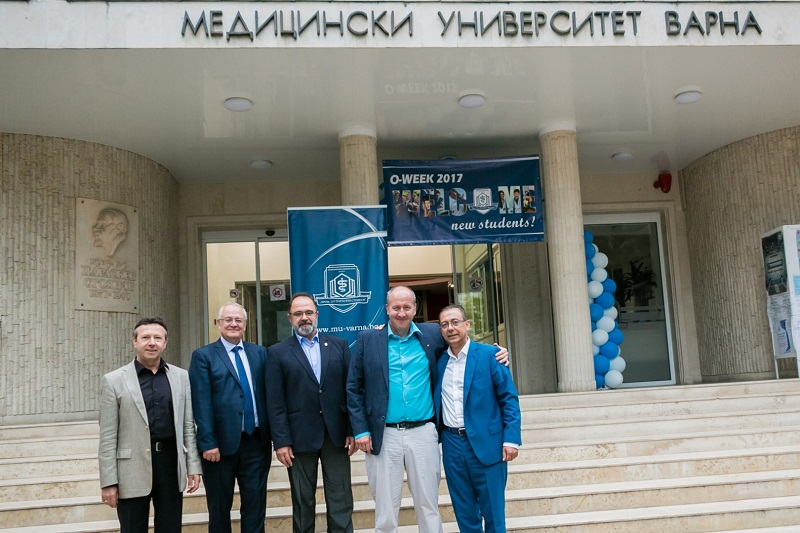 MU-Varna signed a tripartite agreement with AO Research Institute Davos (Switzerland) and the Technical University of Varna