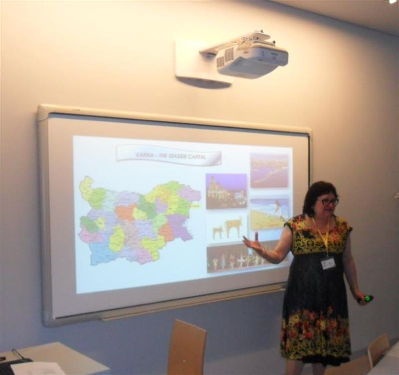"Varna Medical University presented at the International Staff Week within ""Erasmus+"" Programme in Coimbra"