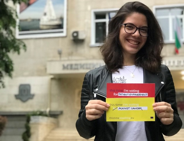 A student of the Medical Faculty of the Medical University of Varna was elected for Youth Ambassador for the European Code Against Cancer (ECAC) for Bulgaria