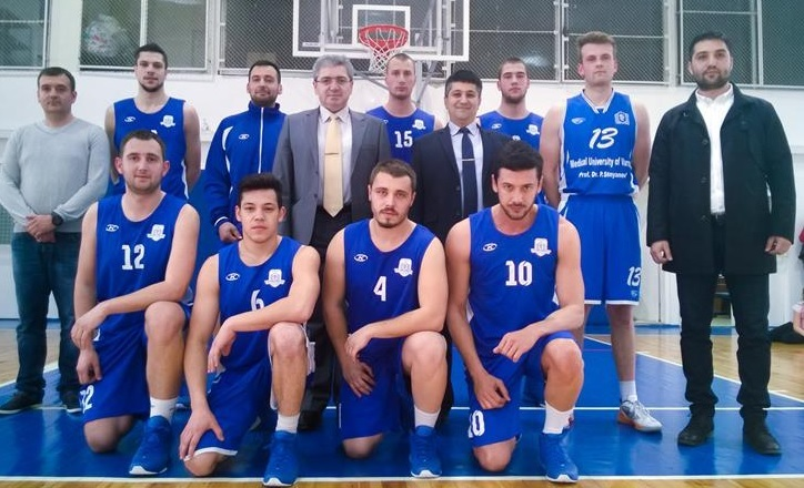 The Basketball Team of MU-Varna Is the Champion of Varna Universiade