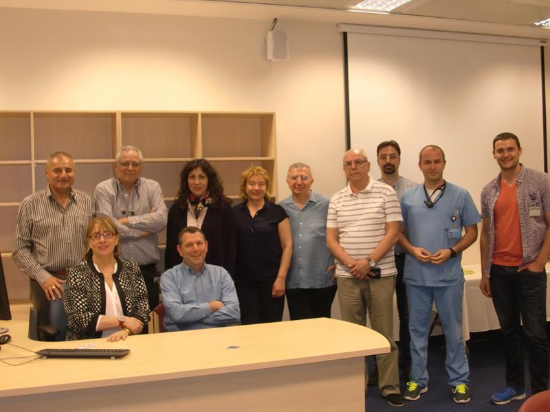 A Delegation of MU-Varna Was on a Working Visit to Israel