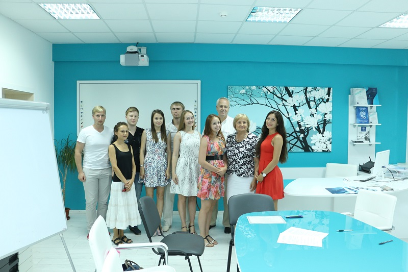 Students from St. Petersburg conducted a summer practice at MU-Varna