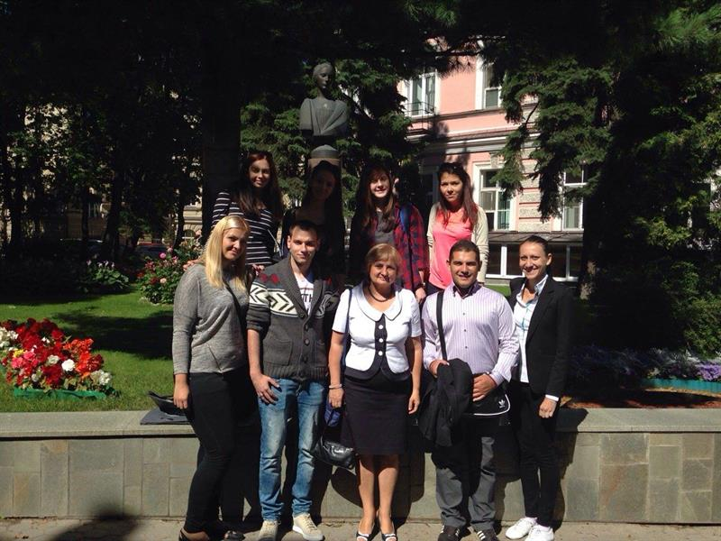 MU-Varna Students Exchange Knowledge and Skills in the Medical University of St. Petersburg