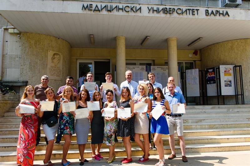 The Summer Internship at MU-Varna of Students from the North-Western State Medical University named after I.I.Mechnikov in St.Petersburg Is Over