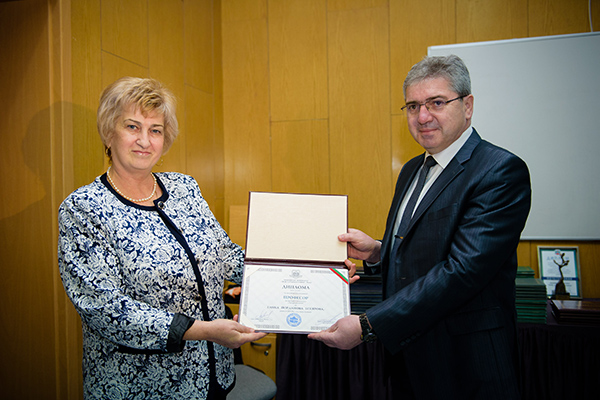 The Diplomas for the Occupied Academic Positions Were Awarded at a Formal Academic Council
