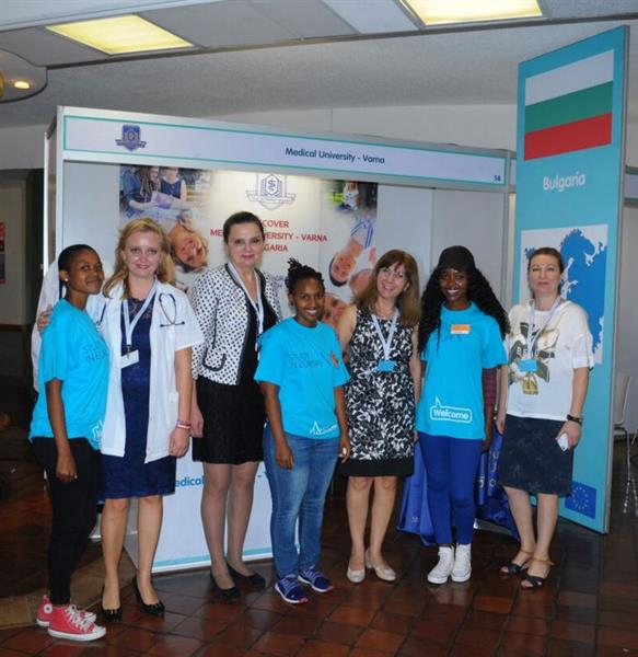 "MU-Varna Takes Part in ""Study in Europe"" Fair for European Universities in South Africa"