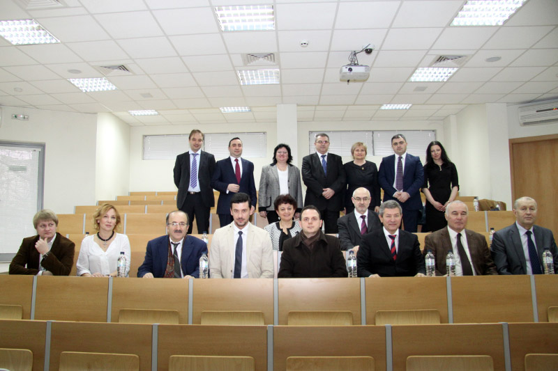 MEDICAL UNIVERSITY OF VARNA HOSTED A MEETING WITH THE INTERNATIONAL BLACK SEA CLUB