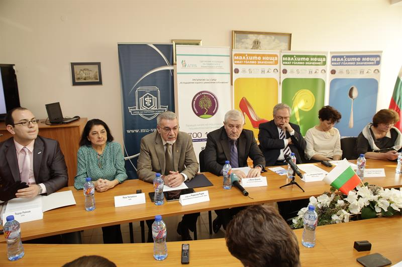 "The Campaign ""Small Things Are of Great Importance"" in Support of People with Rheumatic Diseases Was Launched Today in Varna"