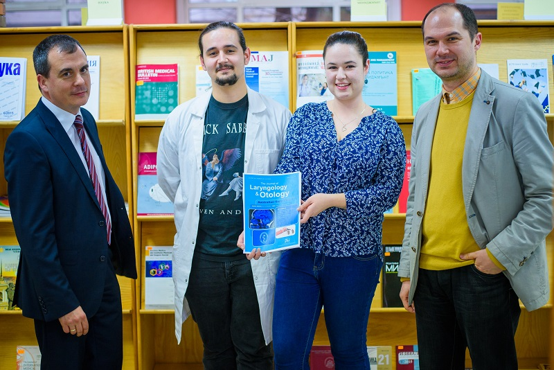 A Study of Students from MU-Varna with a Publication in a Prestigious European Scientific Journal