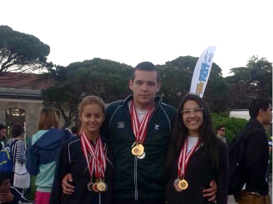 Students from MU-Varna with Gold and Silver Medals from the 35th International Sports Festival in Istanbul