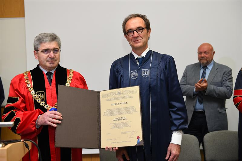 The Renowned Cardiologist Prof. Dr. Karl Stangl Was Conferred a Doctor Honoris Causa Honorary Title by MU - Varna