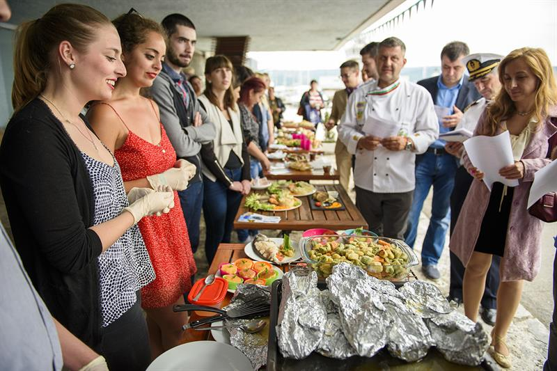 Students from MU-Varna Impressed Chef Petrov with Their Culinary Skills