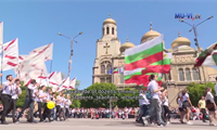 MU-Varna participated in the festive procession for May 24th