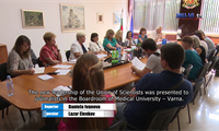 Prof. Dr. Violeta Yotova took control the management of the Union of Scientists in Varna
