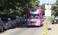 University Hospital Saint Marina-Varna welcomed the Pink Camper of One of 8